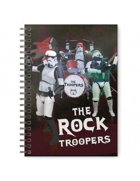Cuaderno A5 Rock Troopers Original Stormtrooper