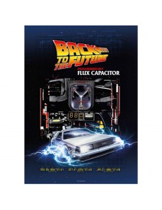 Puzzle Powered by Flux Capacitor Regreso al Futuro 1000pzs