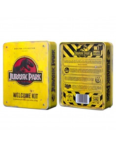 Replica caja metal Jurassic Park Welcome Kit Standard
