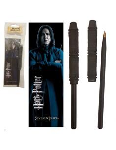 Varita boligrafo y marcapaginas Snape Harry Potter