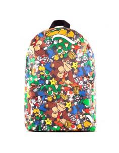 Mochila Super Mario Characters Nintendo 41cm