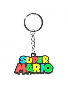 Llavero Logo 3D Super Mario Nintendo