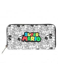 Cartera Logo Super Mario Nintendo