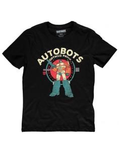 Camiseta Optimus Transformers