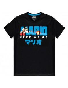 Camiseta Fire Mario Super Mario Nintendo