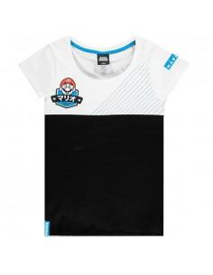 Camiseta mujer Team Mario Super Mario Nintendo