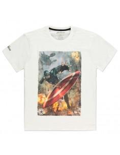 Camiseta Captain America Avengers Marvel
