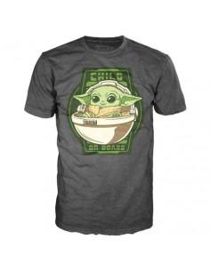 Camiseta Yoda The Child On Board Mandalorian Star Wars