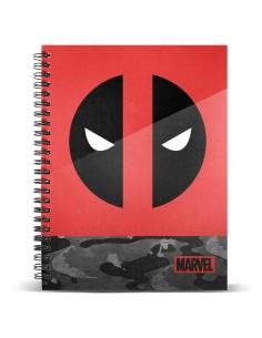 Cuaderno A4 Deadpool Marvel