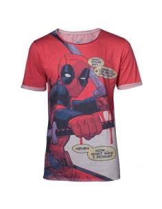 Camiseta Folks Say Deadpool Marvel