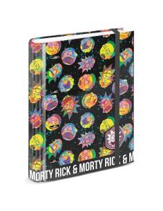 Carpesano A4 Rick and Morty