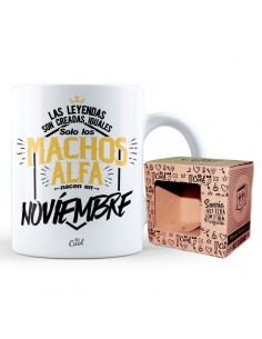 Taza Machos Alfa Noviembre