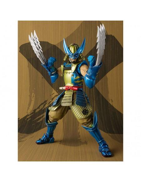 Figura articulada Muhomono Wolverine X Men Marvel 18cm
