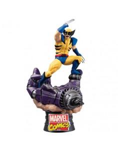 Figura Diorama Lobezno X Men Marvel 16cm