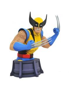 Busto Lobezno X Men Marvel Animated 15cm