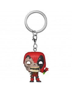 Llavero Pocket POP Marvel Zombies Deadpool