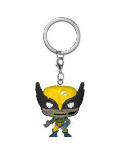 Llavero Pocket POP Marvel Zombies Wolverine