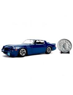 Set Coche metal Chevy Camaro 1979 Z28 Stranger Things moneda