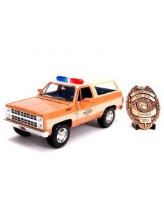 Set Coche metal Chevy K5 Blaze 1980 Stranger Things placa