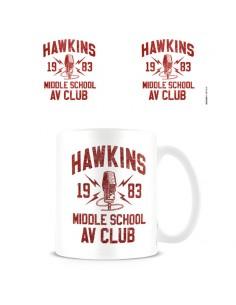 Taza Hawkins Middle School AV Club Stranger Things