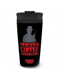 Taza viaje Coffe and Contemplation Stranger Things