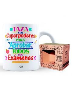 Taza Con Superpoderes Para Aprobar Todos Los Examenes