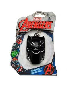 Llavero 3D Black Panther Marvel