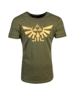 Camiseta Hyrule Pintuck Long Line Zelda Nintendo