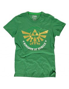 Camiseta Golden Hyrule Zelda Nintendo