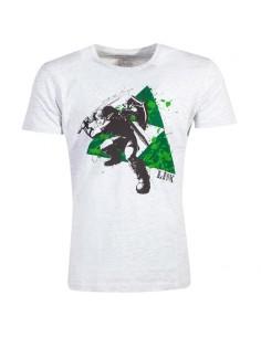 Camiseta Splatter Triforce Zelda Nintendo