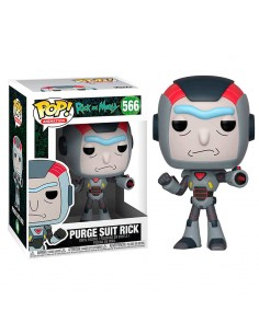 Figura POP Rick Morty Purge Suit Rick