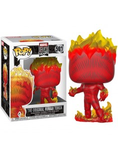 Figura POP Marvel 80th First Appearance Human Torch