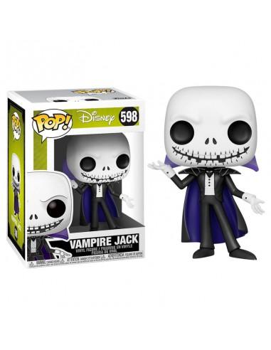 Figura POP Disney Pesadilla Antes de Navidad Vampire Jack