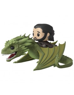Figura POP Juego de Tronos Jon Snow Rhaegal