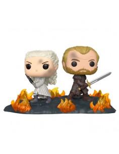 Figura POP Juego de Tronos Daenerys Jorah B2B with Swords