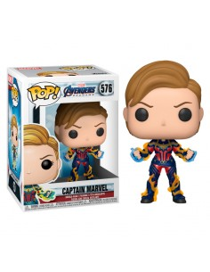 Figura POP Marvel Vengadores Endgame Captain Marvel with New Hair