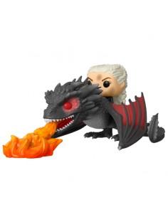 Figura POP Juego de Tronos Daenerys on Fiery Drogon