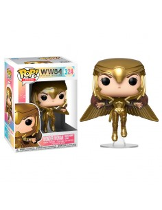 Figura POP DC Wonder Woman 1984 Wonder Woman Gold Flying Pose