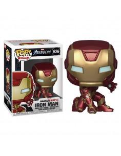 Figura POP Marvel Avengers Game Iron Man Stark Tech Suit