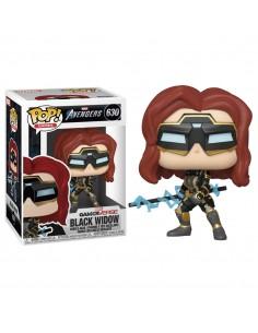 Figura POP Marvel Avengers Game Black Widow Stark Tech Suit