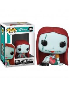 POP Disney Pesadilla Antes de Navidad Sally Sewing