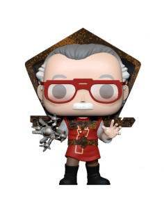 Figura POP Stan Lee in Ragnarok Outfit