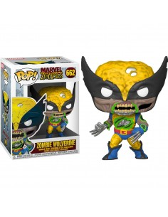 Figura POP Marvel Zombies Wolverine