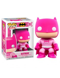 Figura POP Breast Cancer Awareness Batman