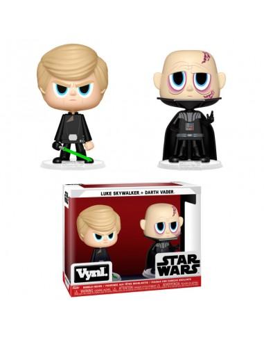 Figuras Vynl Star Wars Darth Vader 38 Luke Skywalker