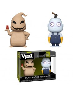 Figuras Vynl Disney Pesadilla Antes de Navidad Oogie Boogie and Behemoth