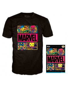Camiseta Blacklight Marvel