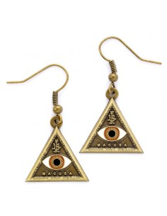 Pendientes Triangle Eye Animales Fantasticos