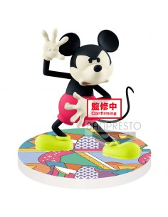 Figura Mickey Mouse Disney Touch Japonism Q Posket A 10cm