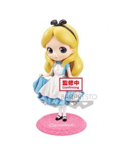 Figura Alice Alicia en el Pais de las Maravillas Disney Glitter Q Posket A 14cm